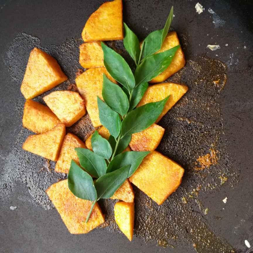 How to make செனை கிழங்கு fry