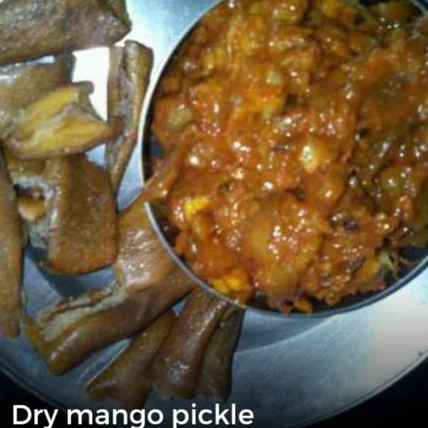 Photo of Dry mango pickle by Sarojam Arumugam at BetterButter