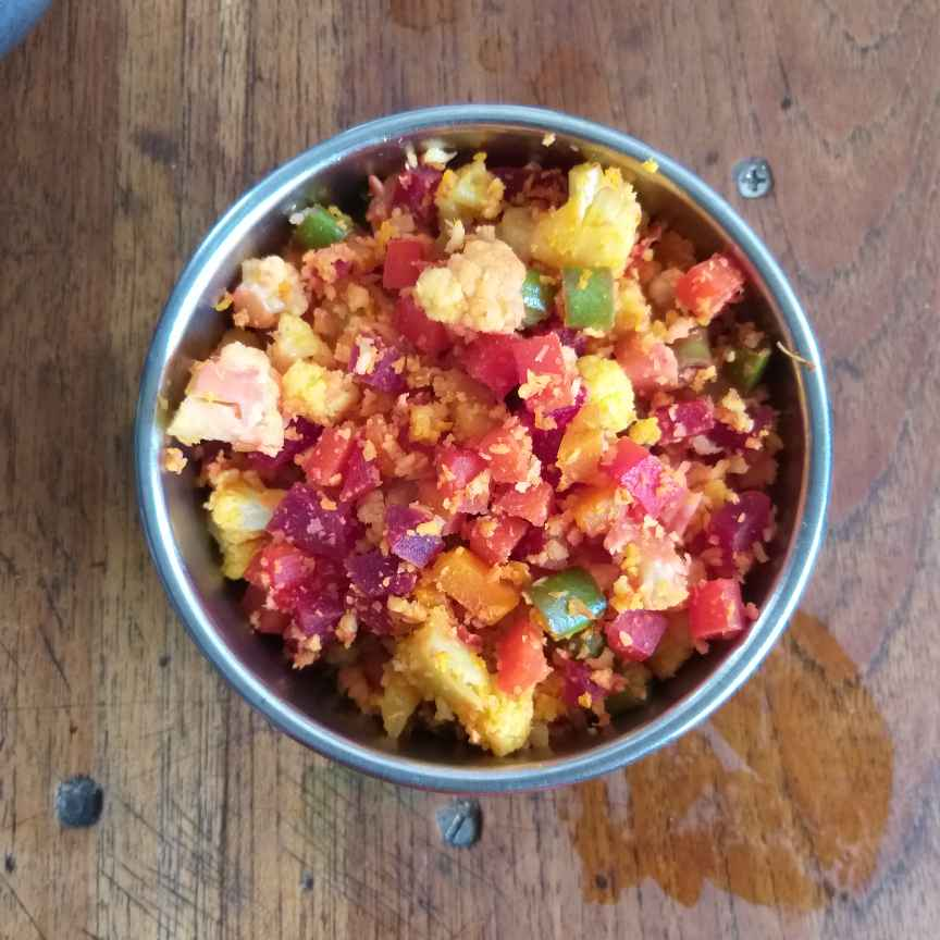 Photo of Mixed vegetable poriyal by Sarojam Arumugam at BetterButter