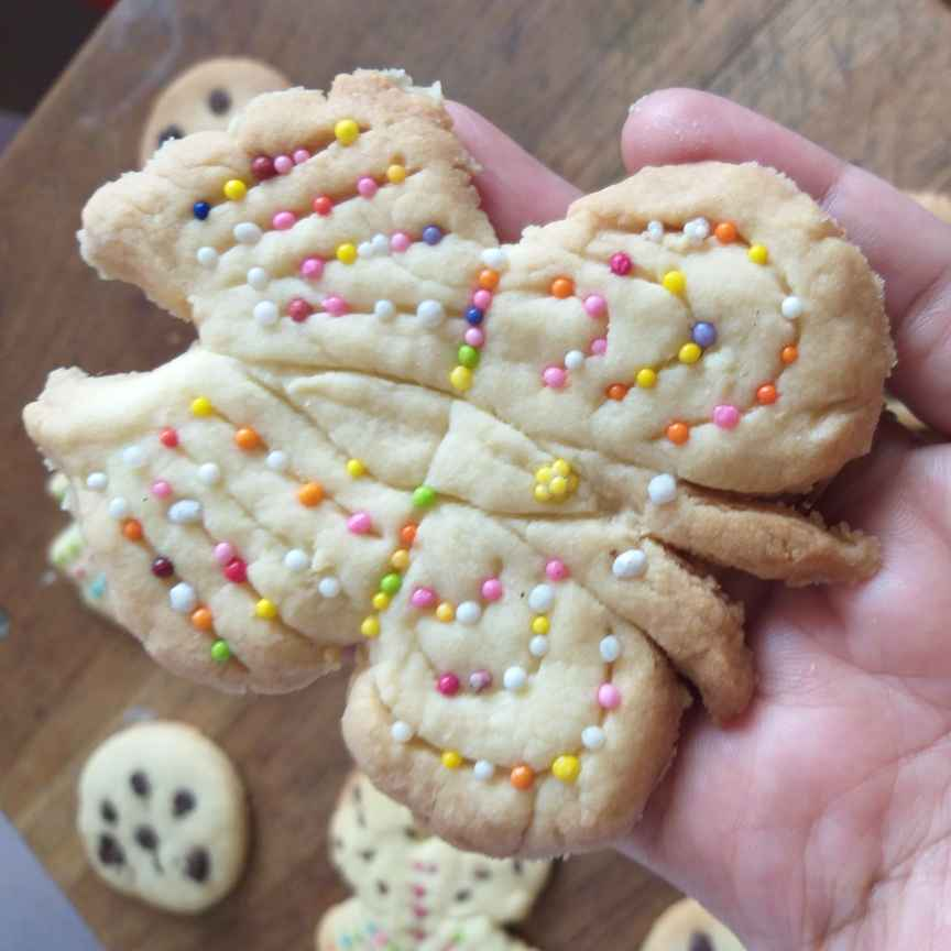 Photo of Butterfly cookies by Sarojam Arumugam at BetterButter