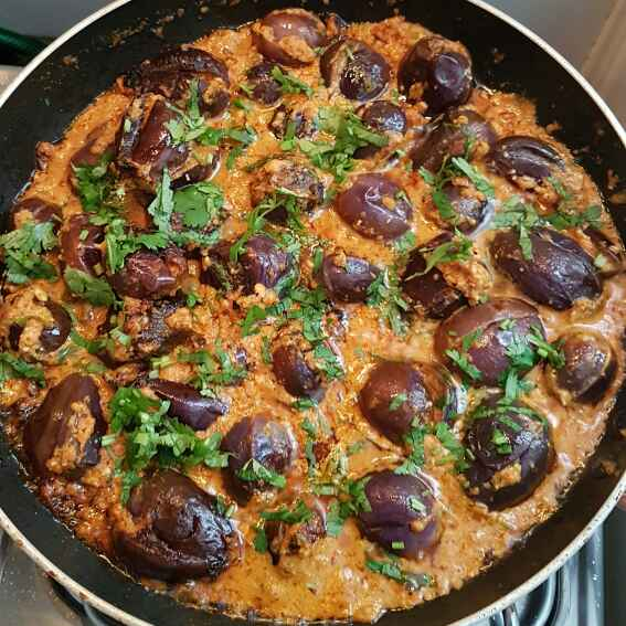 Photo of Paneer stuffed brinjal by Swapna Tirumamidi. at BetterButter