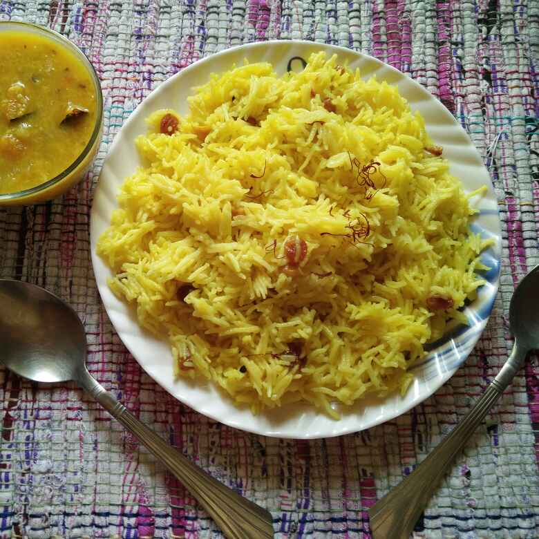 How to make Saffron rice