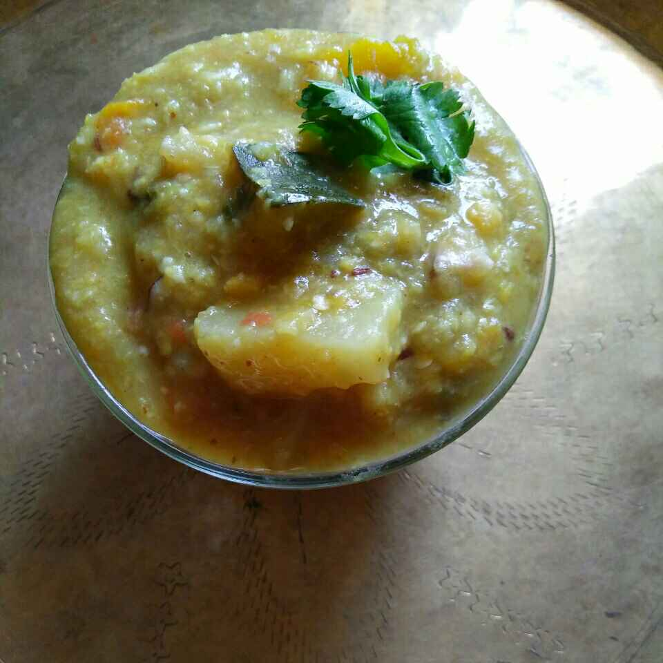 Photo of Dalma(with out onion & garlic) by Sasmita Mohanty at BetterButter
