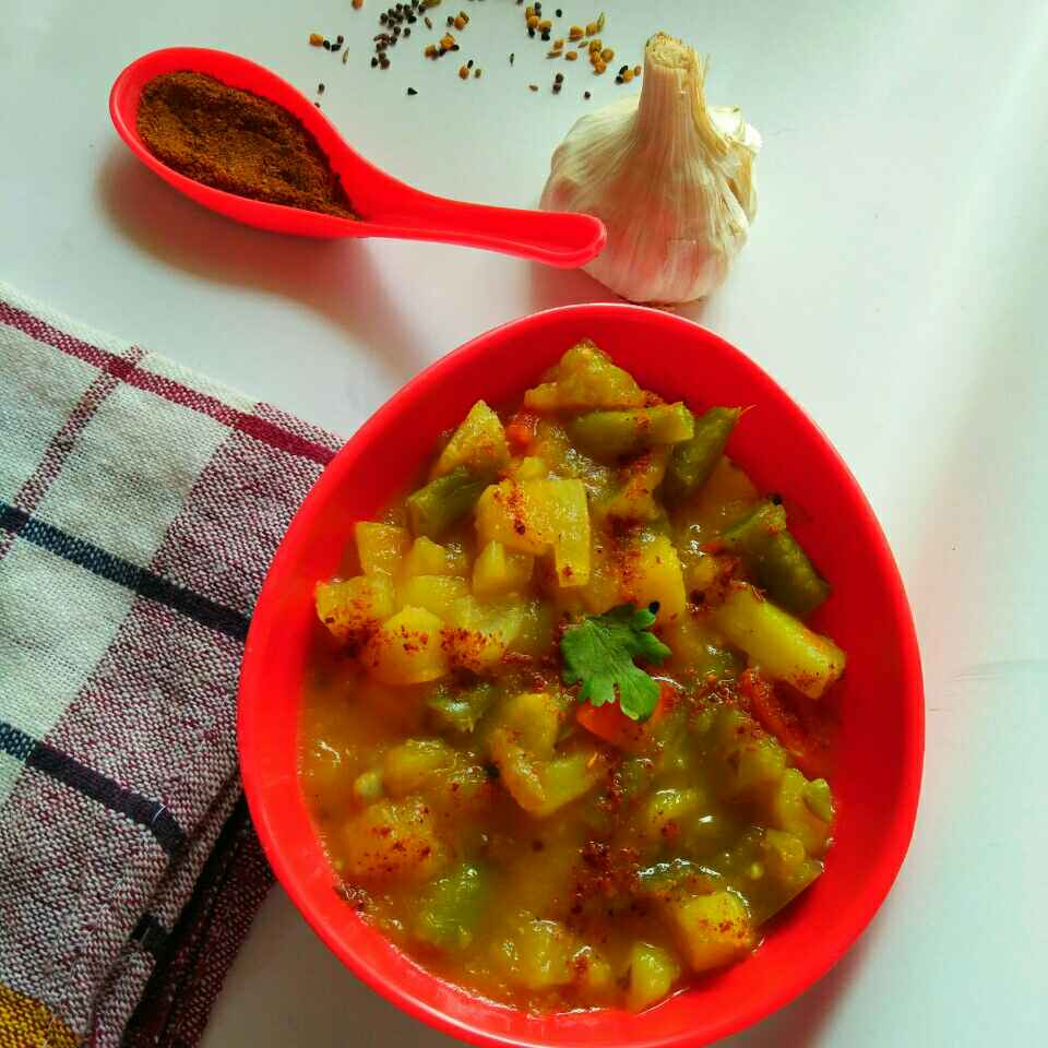 How to make Santula(mix vegetable in odiya style)