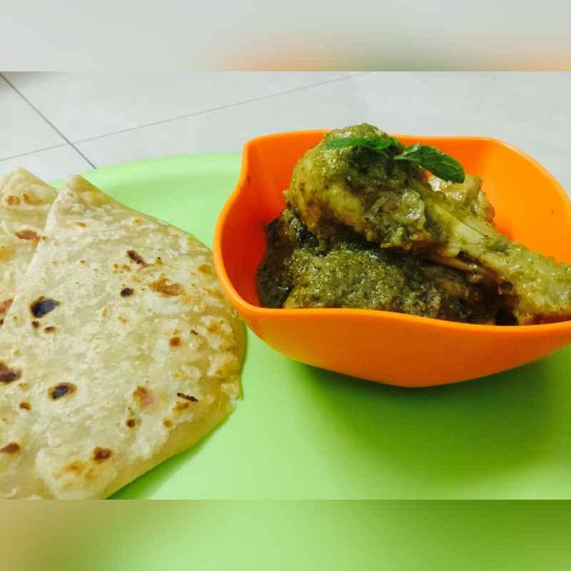 How to make Hariyali Murgh