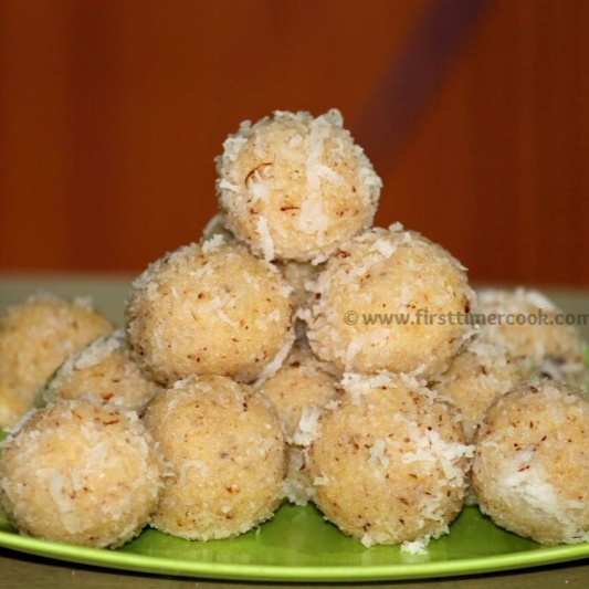 How to make Coconut Ladoo