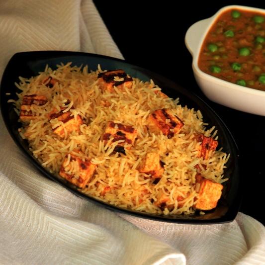 How to make Paneer Tikka Fried Rice