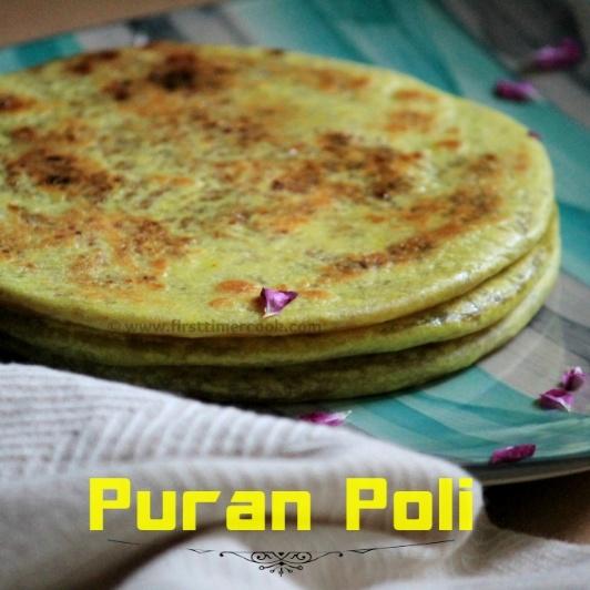 How to make Puran Poli using Wheat Flour | Lentil stuffed Indian Sweet Flat Bread