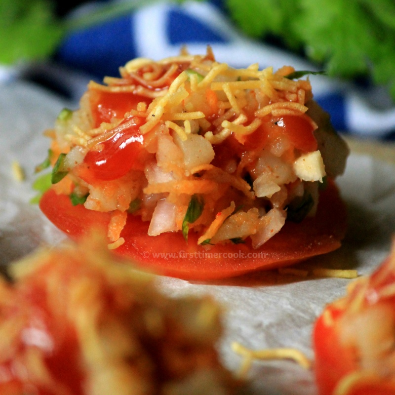 How to make Tomato Canapes