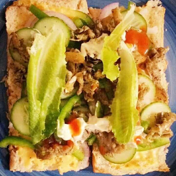 How to make Cheesy Wild Mushroom Sub-Sandwich