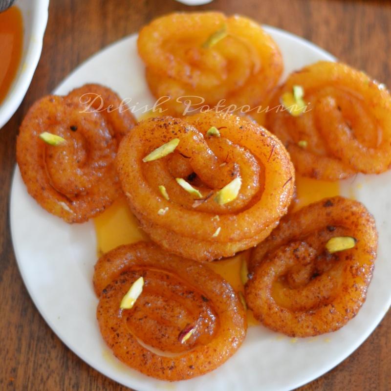 How to make Sweet potato and Paneer Jalebi