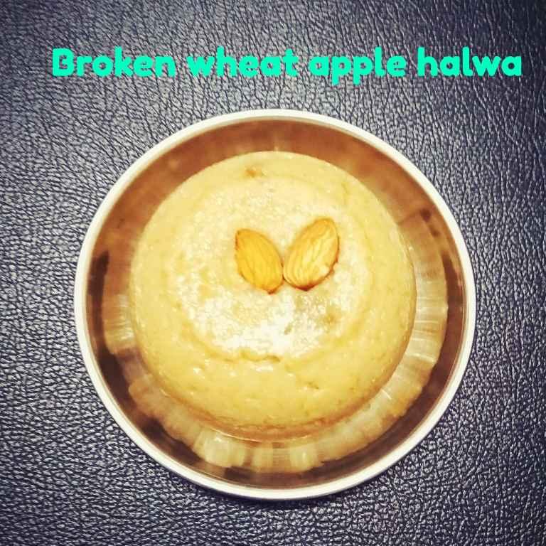 Photo of Broken wheat apple halwa by Sathammai muthiah at BetterButter