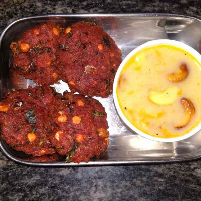 Photo of Beetroot vada by Sathya Kumar at BetterButter