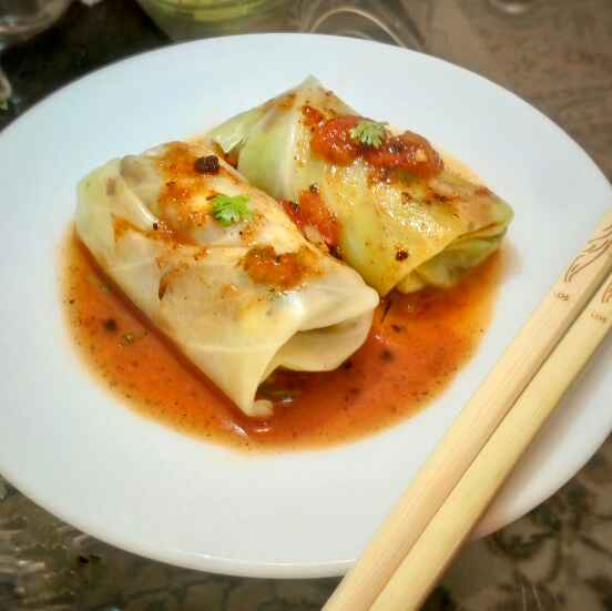 Photo of Cabbage roll by Satvinder Hassanwalia Chandhok at BetterButter