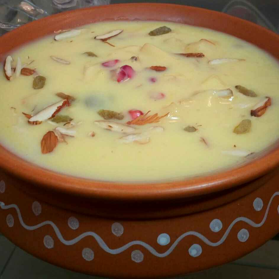 Photo of Fruit Custard by Satvinder Hassanwalia Chandhok at BetterButter