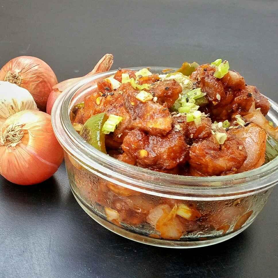 How to make Dry chilli Mushrooms