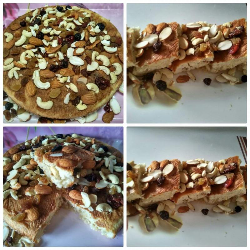 Photo of Nuts fruits cake by Satya Jha at BetterButter