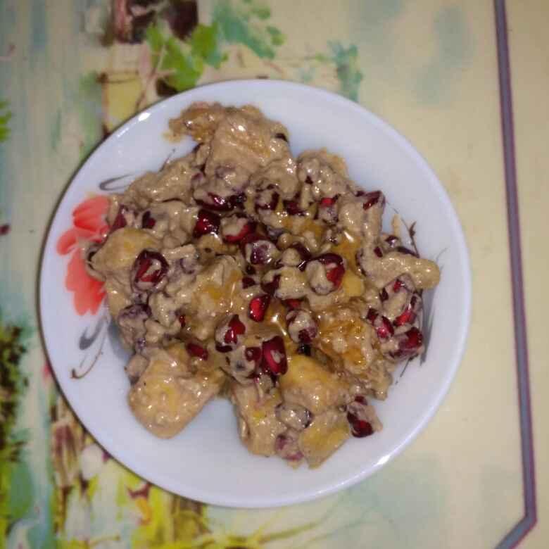 How to make Fruit coco shrikhand