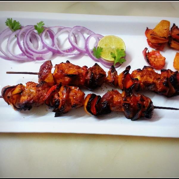 Photo of Chicken Schezwan Kebab by Sayan Majumder at BetterButter
