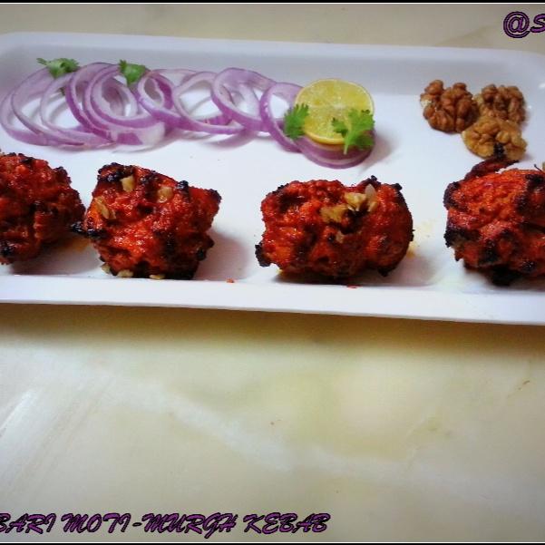 How to make Daarbari Moti Murgh Kebab