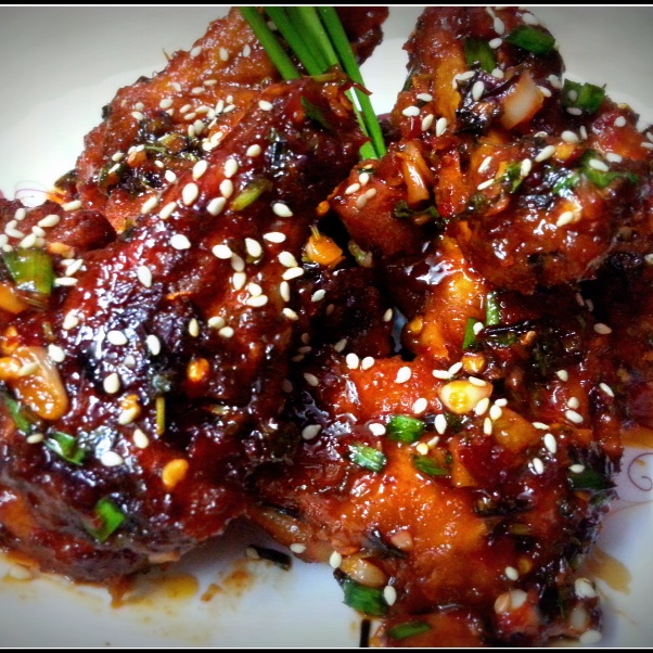 Photo of Sweet and Spicy Chicken Wings  by Sayan Majumder at BetterButter