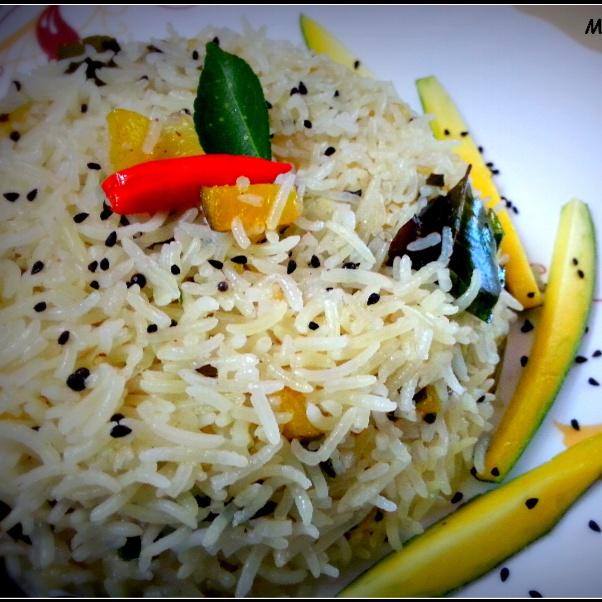 Photo of Raw Mango Pulao by Sayan Majumder at BetterButter