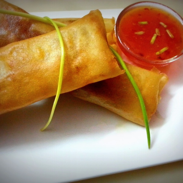 How to make Chicken Spring Rolls