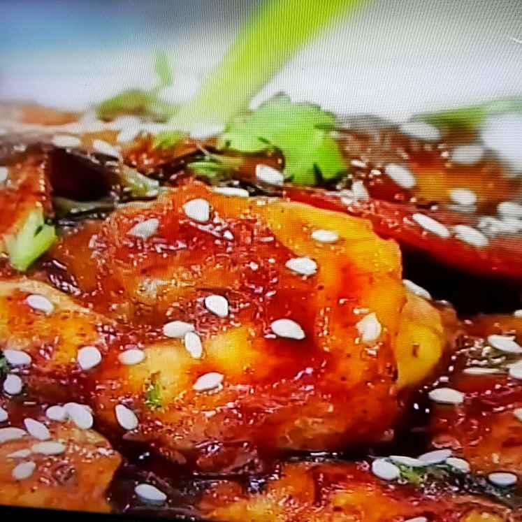 How to make Prawn in hunan sauce