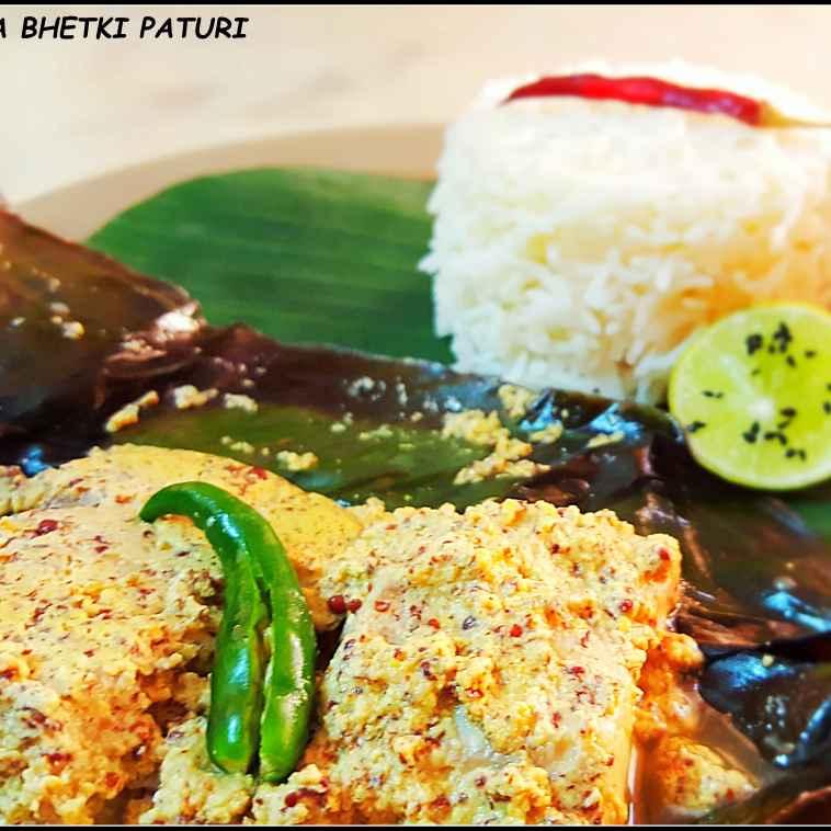 How to make Kolkata bhetki steamed in banana leaf