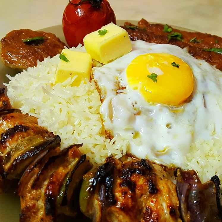 Photo of Chelo Kebab by Sayan Majumder at BetterButter