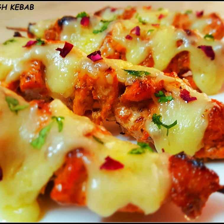 Photo of Cheezy gulabi murgh kebab by Sayan Majumder at BetterButter