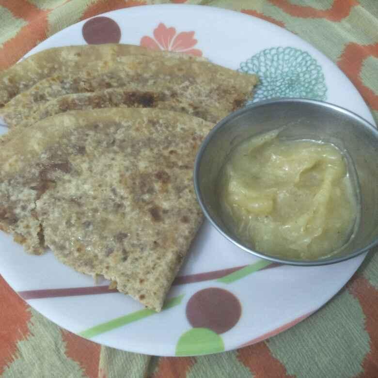 Photo of khajur tilachi puranpoli by Seema jambhule at BetterButter