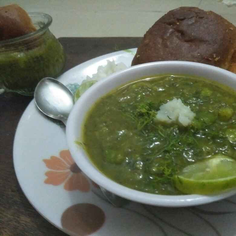 Photo of Green pav bhaji by Seema jambhule at BetterButter