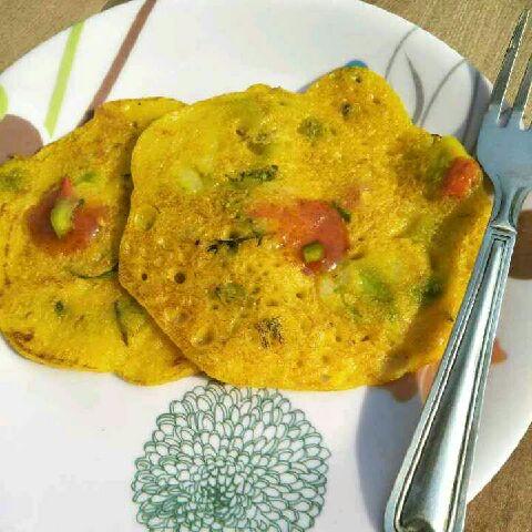 How to make Rava chilla