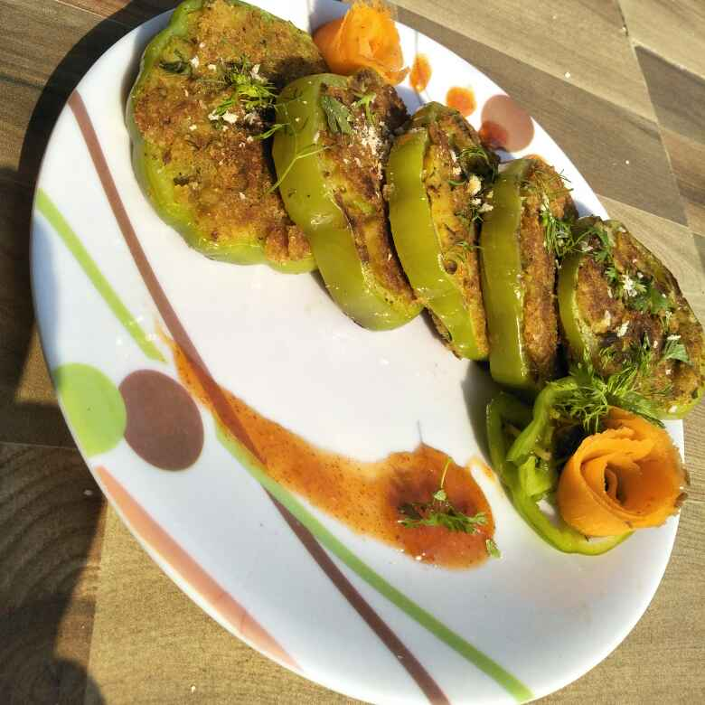 Photo of shimlamirchi masala tikki by Seema jambhule at BetterButter