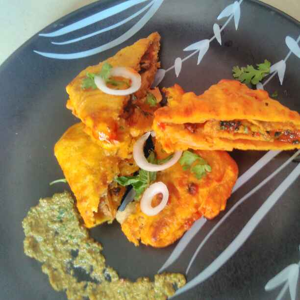 Photo of aachari aloo parcels by Seema jambhule at BetterButter
