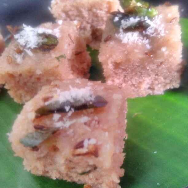 Photo of shigadyacha pithacha dhokla by Seema jambhule at BetterButter
