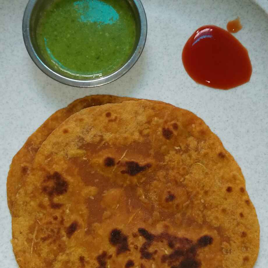 Photo of Bottle gourd paratha by seema Nadkarni at BetterButter