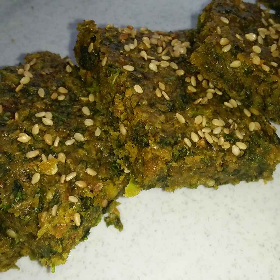 Photo of Baked oats kothimbir vadi by seema Nadkarni at BetterButter