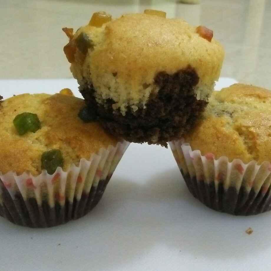 How to make मल्टी ग्रेन चोको वनिला कप केक