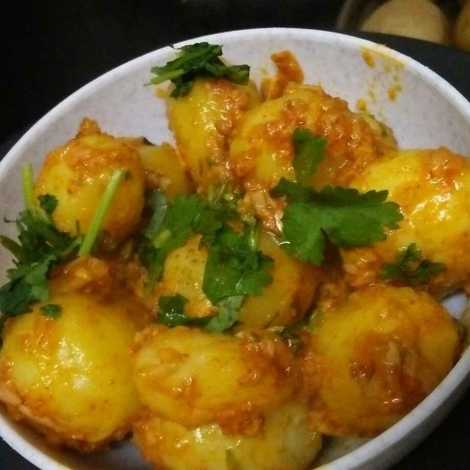 Photo of Garlic potato by seema Nadkarni at BetterButter