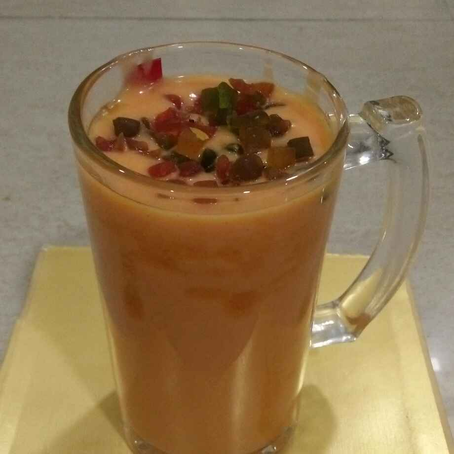 Photo of Honey Papaya smoothy by seema Nadkarni at BetterButter