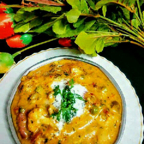 How to make Navratn korma