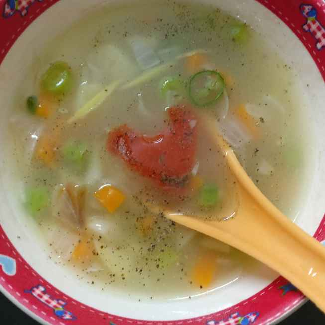How to make  Clear Vegetable Soup