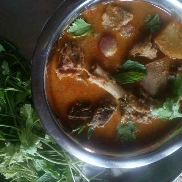 Photo of Mutton Gravy by Selvi Sasikumar at BetterButter