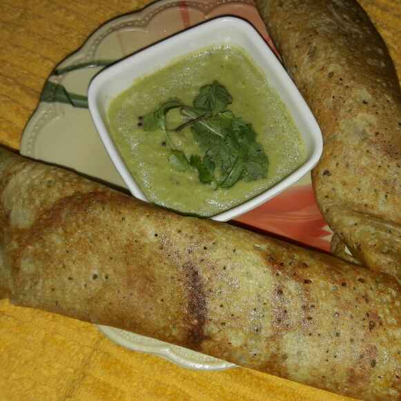How to make Instant Dosa with Coconut Chutney