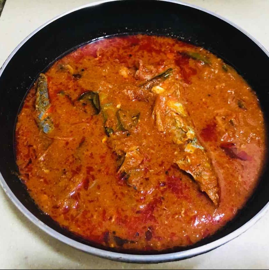 How to make Mackerel Fish curry