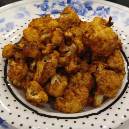 How to make Cauliflower fry.