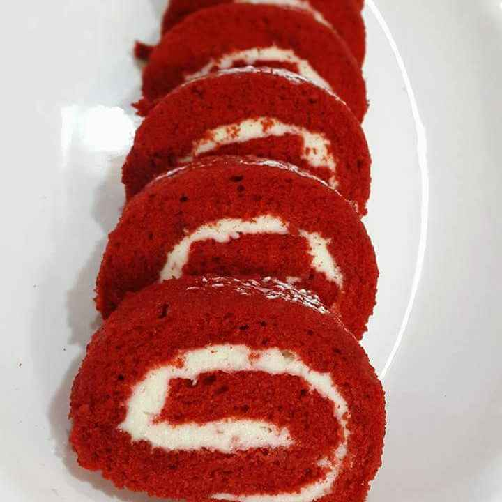 How to make Red Velvet Swis Roll