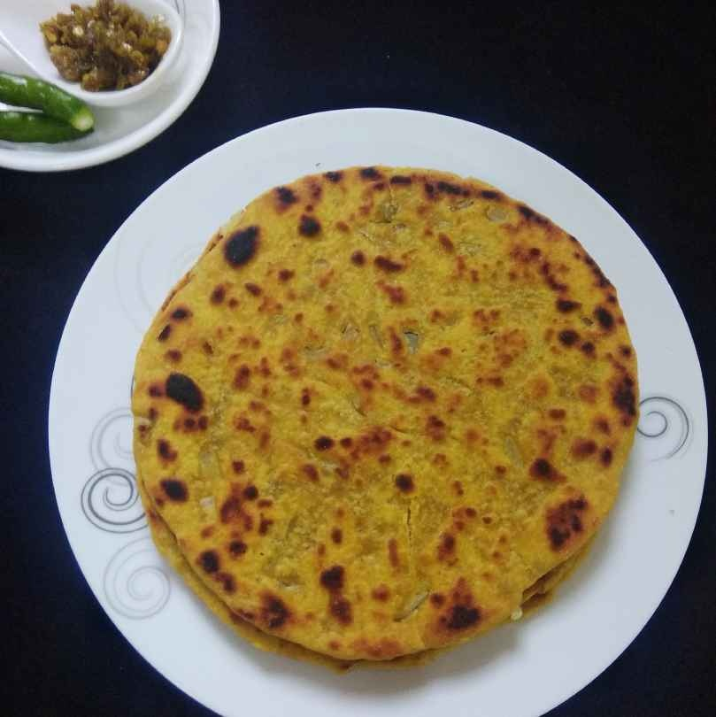 Photo of Missi roti/besan ki roti by Shaheda T. A. at BetterButter